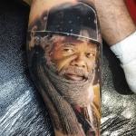 Реалистичный тату портрет